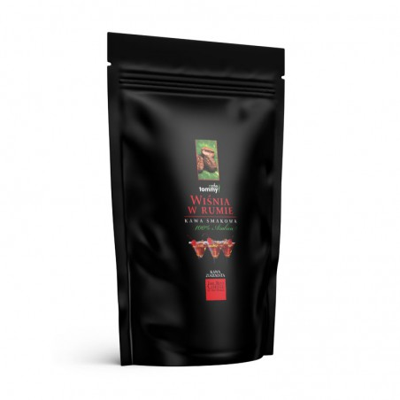 Kawa smakowa Wiśnia w Rumie 250g