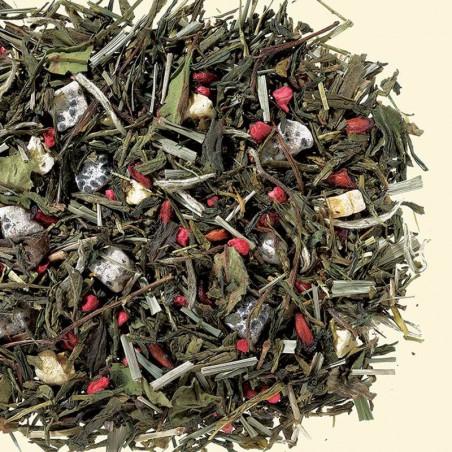 Herbata biała/zielona smakowa Smoczy Owoc 100g
