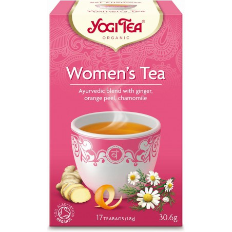 HERBATKA DLA KOBIET (WOMEN'S TEA) BIO (17 x 1,8 g) 30,6 g - YOGI TEA