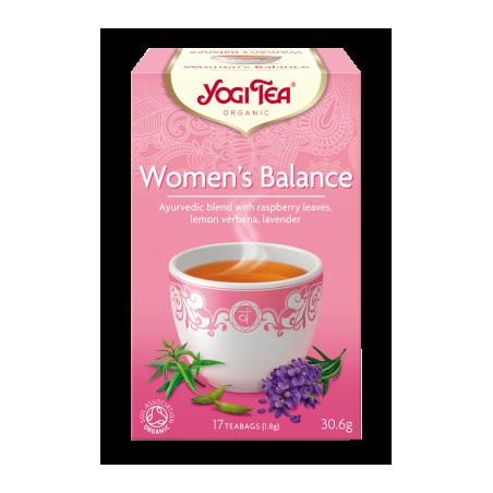 HERBATKA DLA KOBIET - RÓWNOWAGA (WOMEN'S BALANCE) BIO (17 x 1,8 g) 30,6 g - YOGI TEA