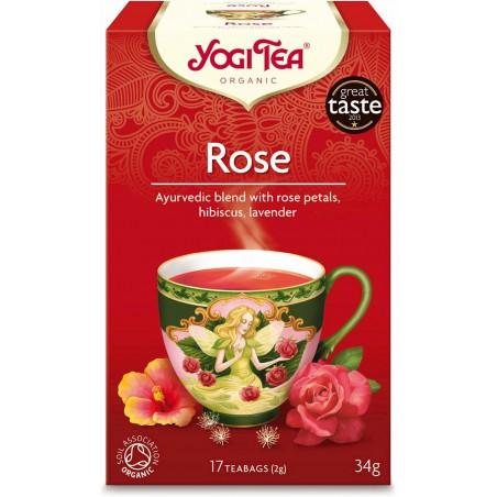 HERBATKA TAO ROSE BIO (17 x 2 g) 34 g - YOGI TEA