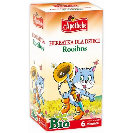 HERBATKA DLA DZIECI - ROOIBOS BIO (20 x 1,5 g) 30 g - APOTHEKE