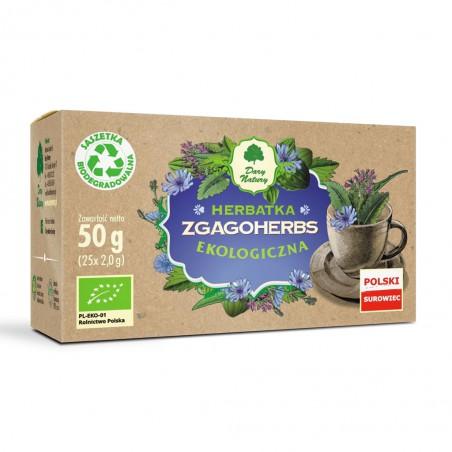 HERBATKA ZGAGOHERBS BIO (25 x 2 g) 50 g - DARY NATURY