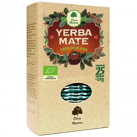 YERBA MATE BIO (25 x 2 g) 50 g - DARY NATURY