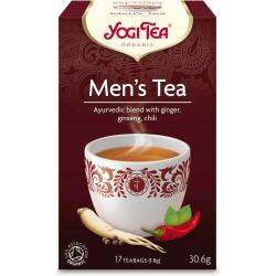 HERBATKA DLA MĘŻCZYZN (MEN'S TEA) BIO (17 x 1,8 g) 30,6 g - YOGI TEA