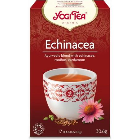 HERBATKA ECHINACEA BIO (17 x 1,8 g) 30,6 g - YOGI TEA