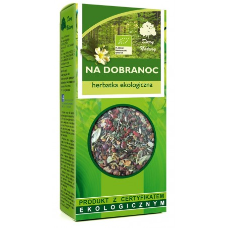 HERBATKA NA DOBRANOC BIO 50 g - DARY NATURY