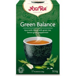 HERBATA ZIELONA RÓWNOWAGA (GREEN BALANCE) BIO (17 x 1,8 g) 30,6 g - YOGI TEA