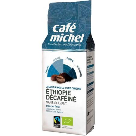 KAWA MIELONA BEZKOFEINOWA ARABICA 100 % ETIOPIA FAIR TRADE BIO 250 g - CAFE MICHEL