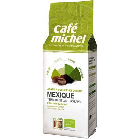 KAWA MIELONA ARABICA 100 % MEKSYK FAIR TRADE BIO 250 g - CAFE MICHEL