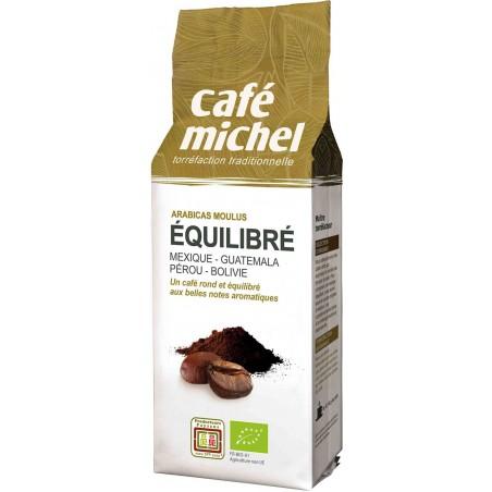 KAWA MIELONA ARABICA 100 % PREMIUM EQUILIBRE FAIR TRADE BIO 250 g - CAFE MICHEL