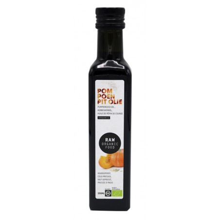 OLEJ Z PESTEK DYNI VIRGIN RAW BIO 250 ml - RAW ORGANIC FOOD