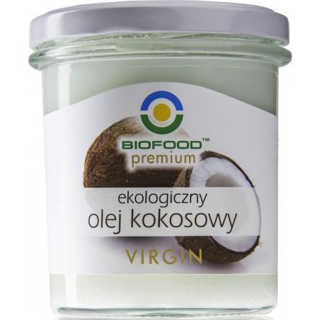 OLEJ KOKOSOWY VIRGIN BIO 260 ml - BIO FOOD