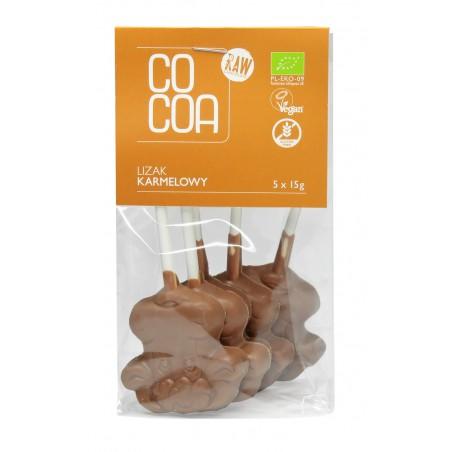 LIZAKI KARMELOWE BEZGLUTENOWE BIO (5 x 15 g) 75 g - COCOA