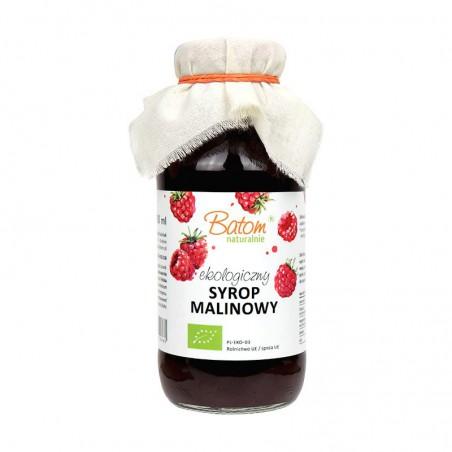 SYROP MALINOWY BIO 330 ml - BATOM