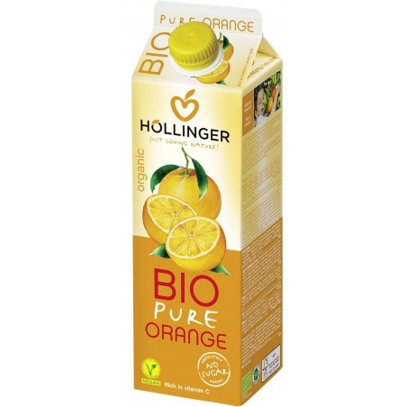 SOK POMARAŃCZOWY BIO 1 L - HOLLINGER