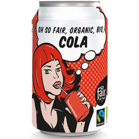 NAPÓJ GAZOWANY O SMAKU COLA FAIR TRADE BIO 330 ml (PUSZKA) - OXFAM