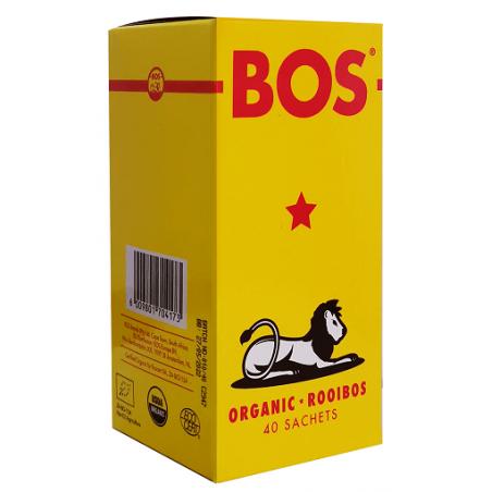 HERBATKA ROOIBOS BIO (40 x 2,5 g) 100 g - BOS
